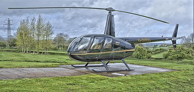 Fotografie: vyhlídkový let vrtulníkem r44