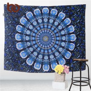 Ojedinělá tapiserie s motivy mandal i slonů – různé rozměry
