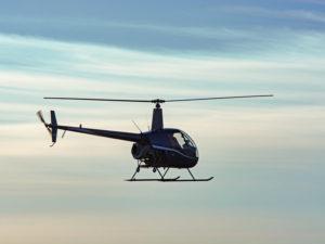 Adrenalinový let ve vrtulníku