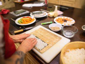 Domácí videokurz SUSHI s Ola Kala + balíček japonských surovin