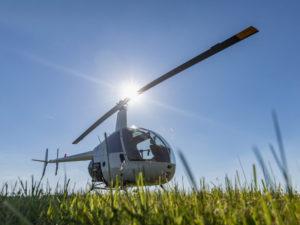 Pilotem vrtulníku na zkoušku