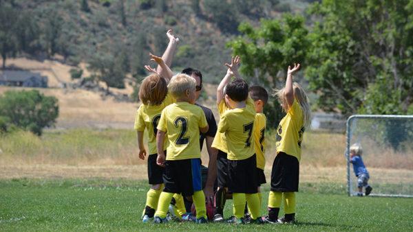 dětský fotbalový tým