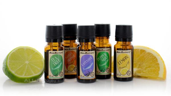 Lavender essential oil, 10 ml, in glass - obalové zásoby